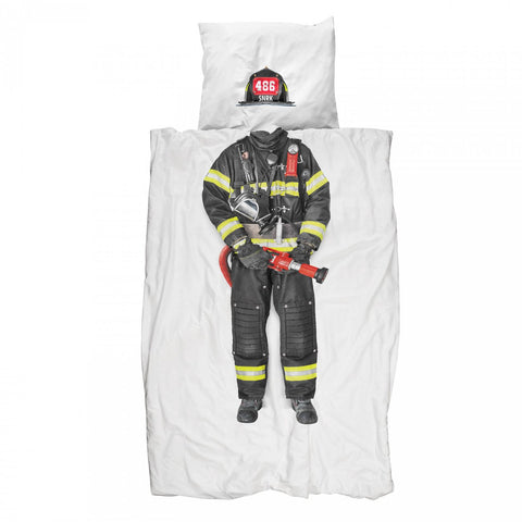 Firefighter duvet cover