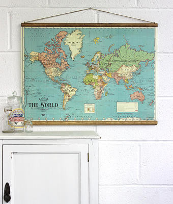 Wallhanging Bacons Map