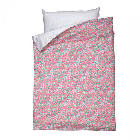 Little Flower Fuchsia duvet cover