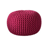 Deer Chill Out Pouf Fuchsia