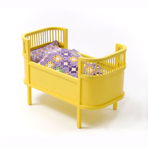 Doll Bed Yellow