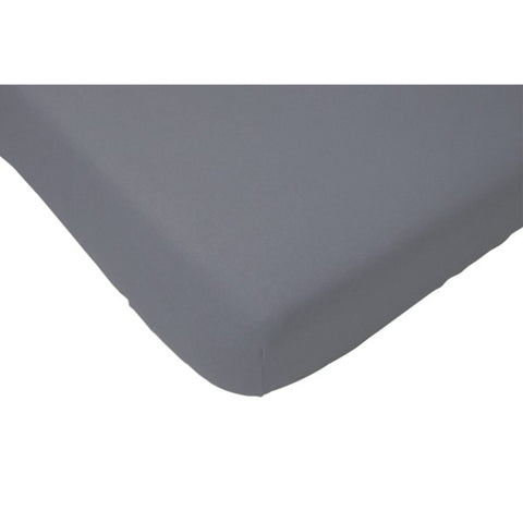 Jollein Fitted Sheet Cotton Anthracite