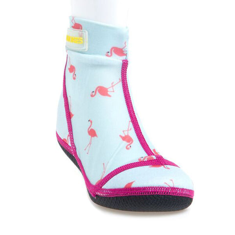 Beach Socks Flamingo (Jet)