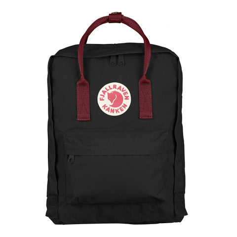 Backpack Kånken- Fjällräven Black-Ox Red