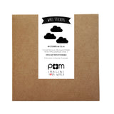 Box Stickers Black Clouds