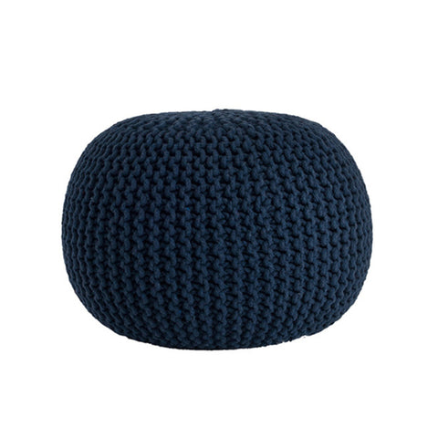 Deer Chill Out Pouf Navy