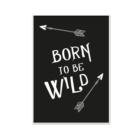 Poster A3 Born to be Wild