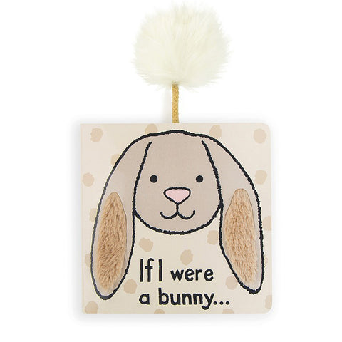 IF I WERE A BUNNY BOARD BOOK - Beige