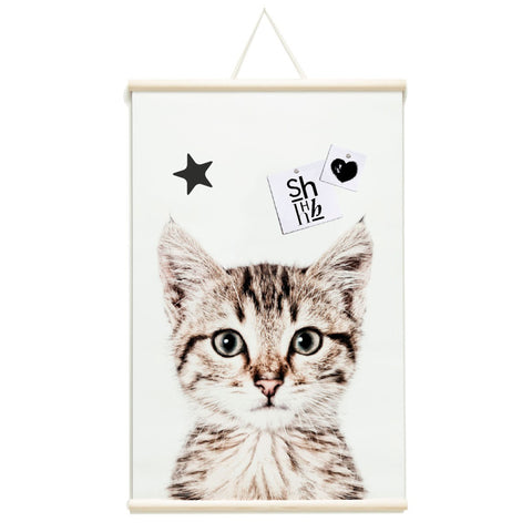 Magnetic Poster 62x100 Kitten