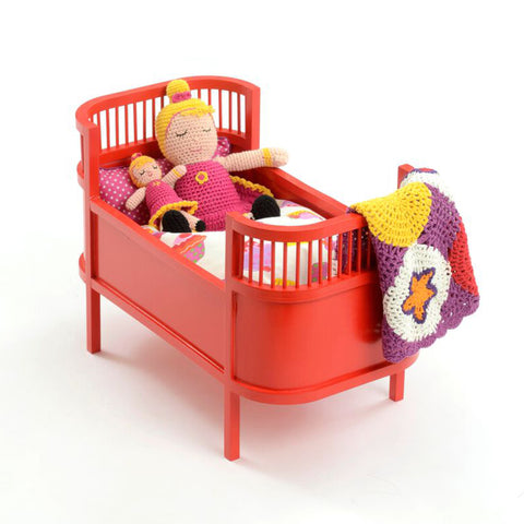 Doll Bed Red