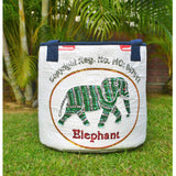 Rice Basket Elephant Sequins