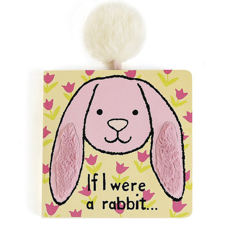 If I were a Rabbit Board Book - Pink