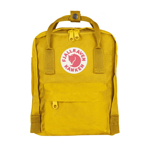 Backpack Kånken- Fjällräven Mini Warm Yellow