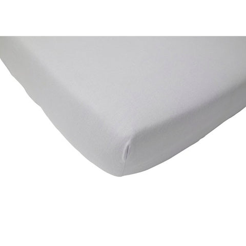 Jollein Fitted Sheet Jersey Light Grey