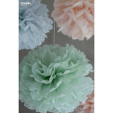 Pom Pom Set Small Pastel