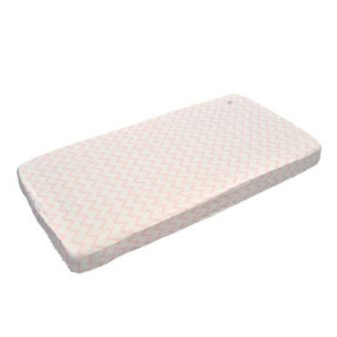 Lodger Fitted Cot Sheet Peach