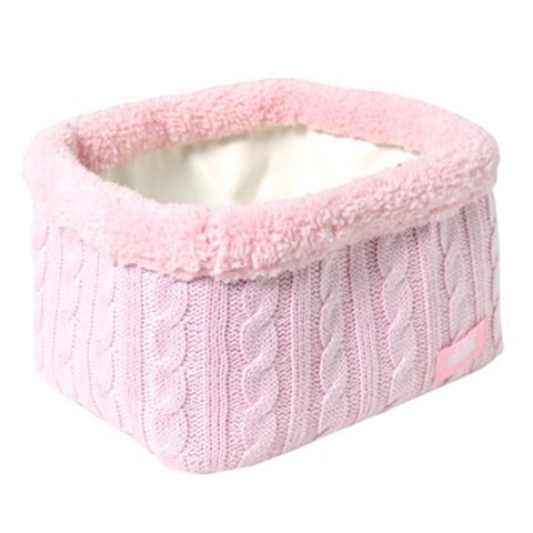 Light Pink Cable Basket