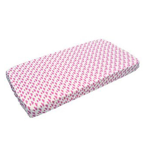 Lodger Fitted Cot Sheet Pink