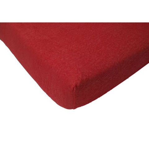 Jollein Fitted Sheet Terry Red