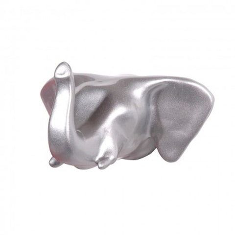 Wall hook Elephant Silver