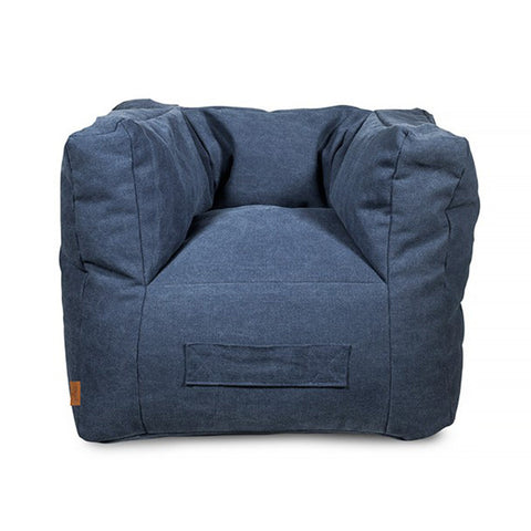 Bean Bag Stonewash Canvas Navy
