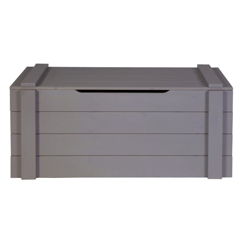 Toy Chest Steel Grey