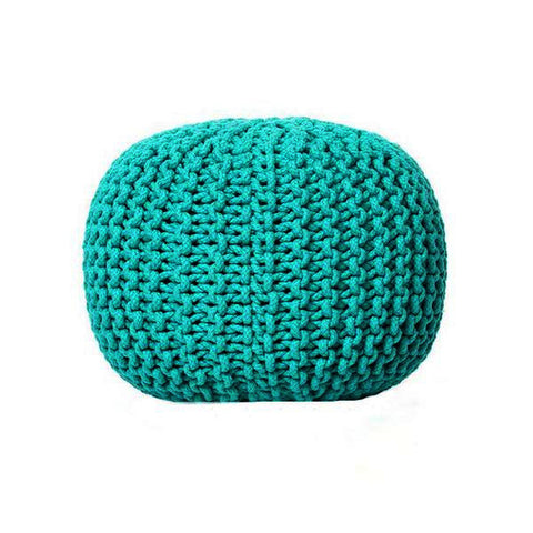 Deer Chill Out Pouf Turquoise