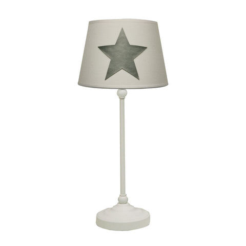 Metal Table Lamp with 'Moepa' shade