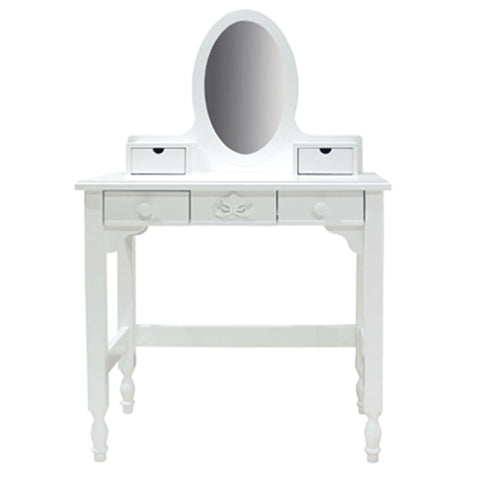 Romantic White Vanity Desk
