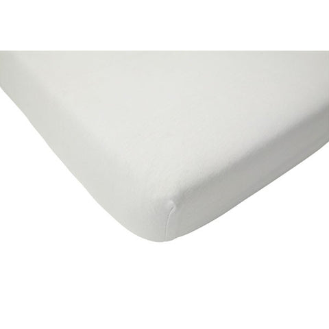 Jollein Fitted Sheet Jersey White