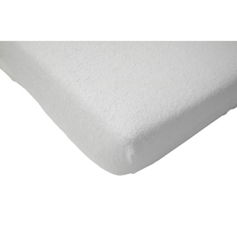 Jollein Fitted Sheet Terry White