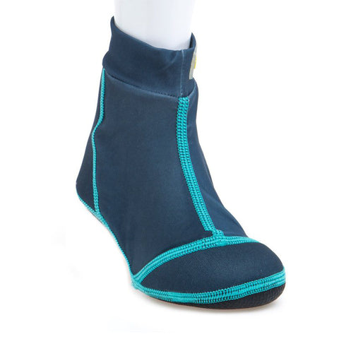 Beach Socks Blue-Aqua (Wisse)