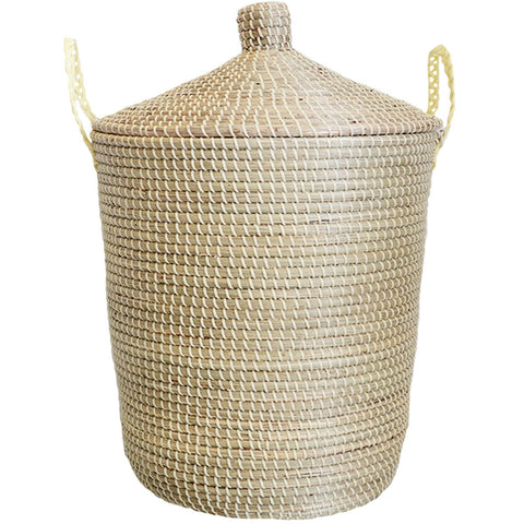 Seagrass Basket All Yellow