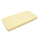 Lodger Fitted Cot Sheet Yellow