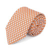 Geo Spot Tie in Orange