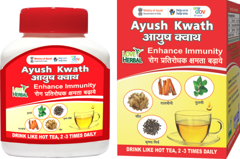 Ayush Kwath 1 Box 72 gm   |  24 Cups (150ml)