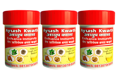 Ayush Kwath 3 Box 24 gm   |  24 Cups (150ml)