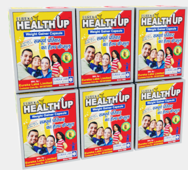 Healthup Capsule for Weight Gain 360 Caps Blister Pack