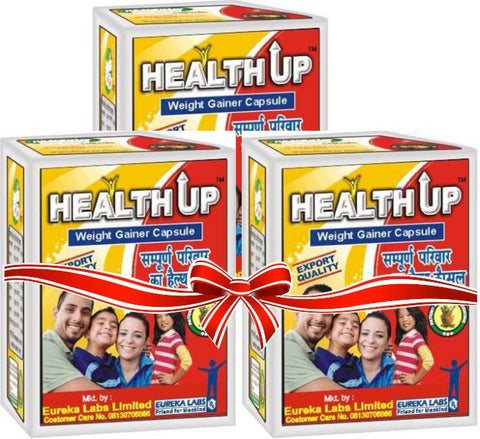 Healthup Capsule for Weight Gain 180 Caps Blister Pack