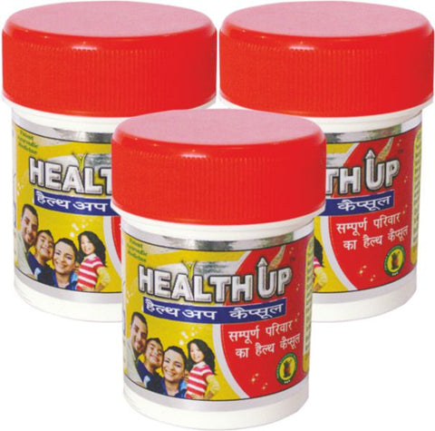 Healthup Capsule for Weight Gain 90 Caps Polypack