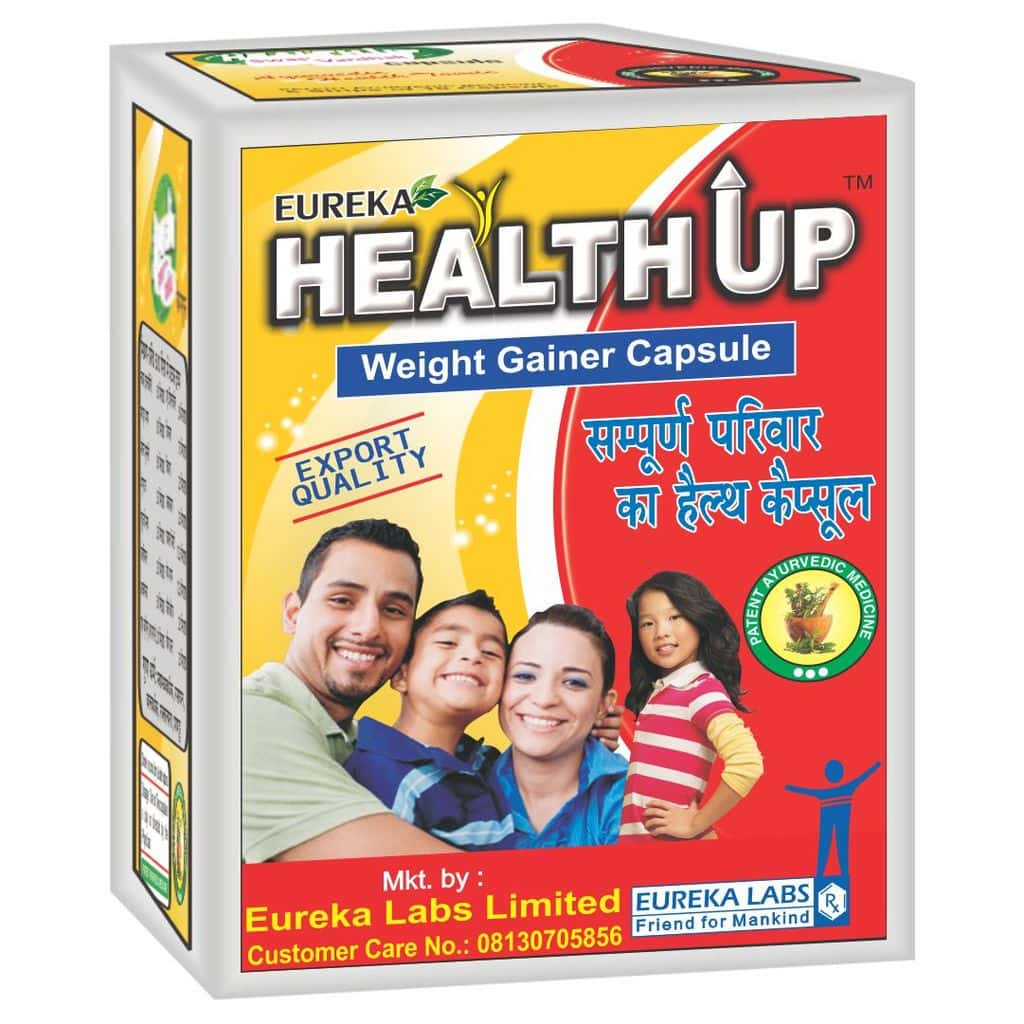 Healthup Capsule for Weight Gain 60 Caps Blister Pack