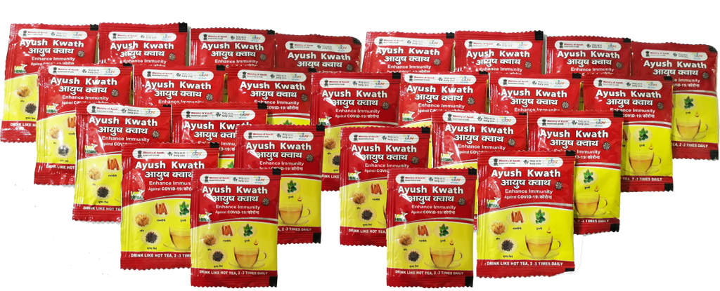 Ayush Kwath 25 Sachet X 6 gm   |  50 Cups (150ml)