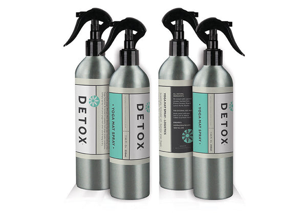 Detox Yoga Mat Spray | 15 Bottles, Studio Pack Wholesale