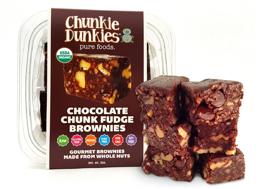 CHOCOLATE CHUNK FUDGE BROWNIES