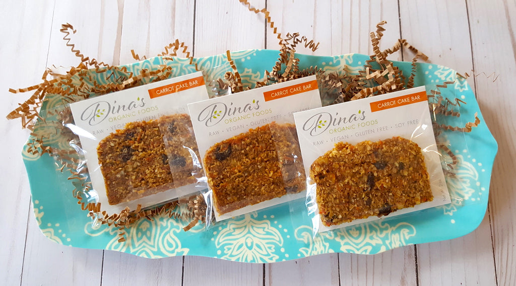 SUPERFOOD CARROT CAKE BARS