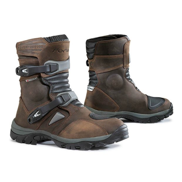 Forma Adventure Low motorcycle boots brown