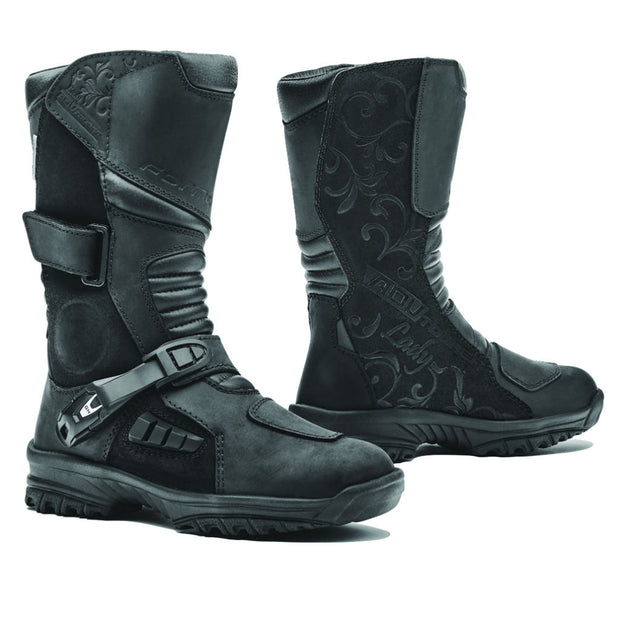 Forma ADV Tourer Lady motorcycle boots, black