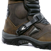 Forma Adventure motorcycle boots brown ankle protection