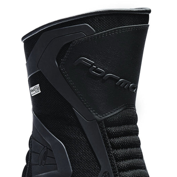 Forma Air Outdry motorcycle boots black shin