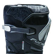 Forma Terra Evo motorcycle boots, black shin protection